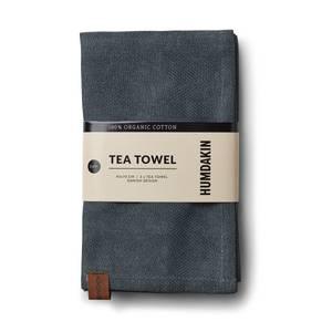 Bilde av Humdakin Organic Tea Towel 2-pack. Green seaweed