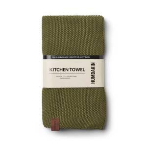 Bilde av Humdakin knitted kitchen towel. Fern