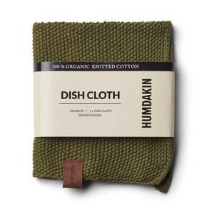 Bilde av Humdakin knitted dishcloth. Fern