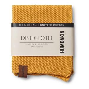 Bilde av Humdakin knitted dishcloth. Yellow fall