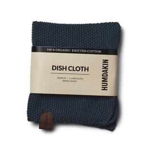 Bilde av Humdakin knitted dishcloth. Sea blue