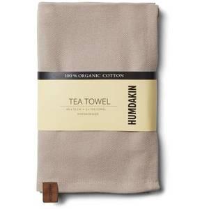 Bilde av Humdakin Organic Tea Towel 2-pack. Light Stone