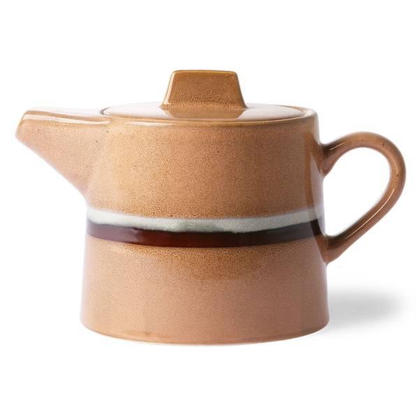 HKliving - 70s ceramics: tea pot, stream