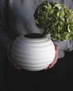 Bilde av Storefactory - Runvik keramikkvase hvit