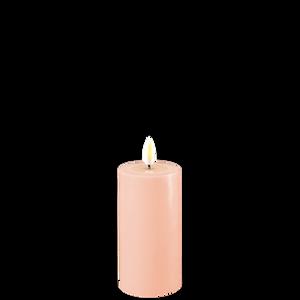 Bilde av Deluxe Homeart kubbelys, lys rosa