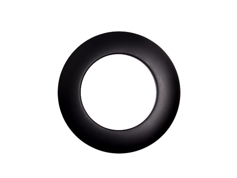 Pyntering for Peisrør Ø150mm u/Fjær sort