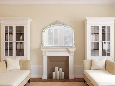 Amarone speil hvit