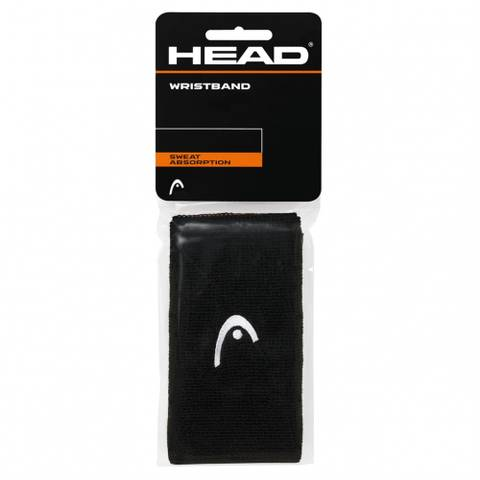 """Bilde av HEAD Wristband 5"""" Sort -"""