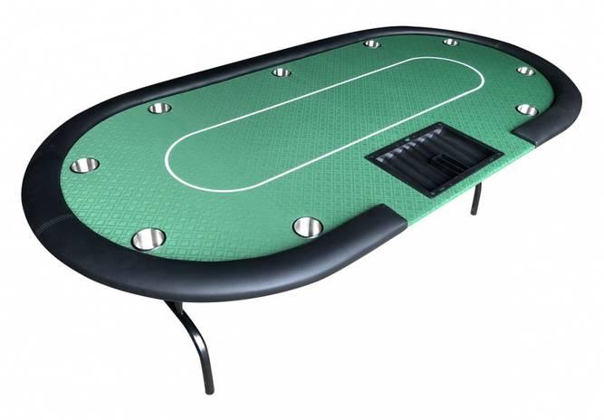 Bilde av Dealer grønn pokerbord