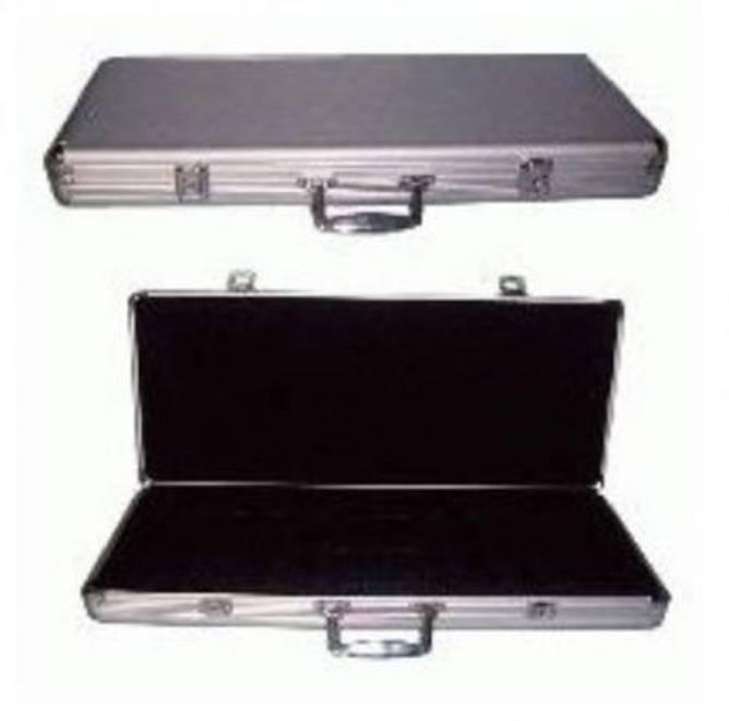 Bilde av Aluminiums koffert for 500 sjetonger