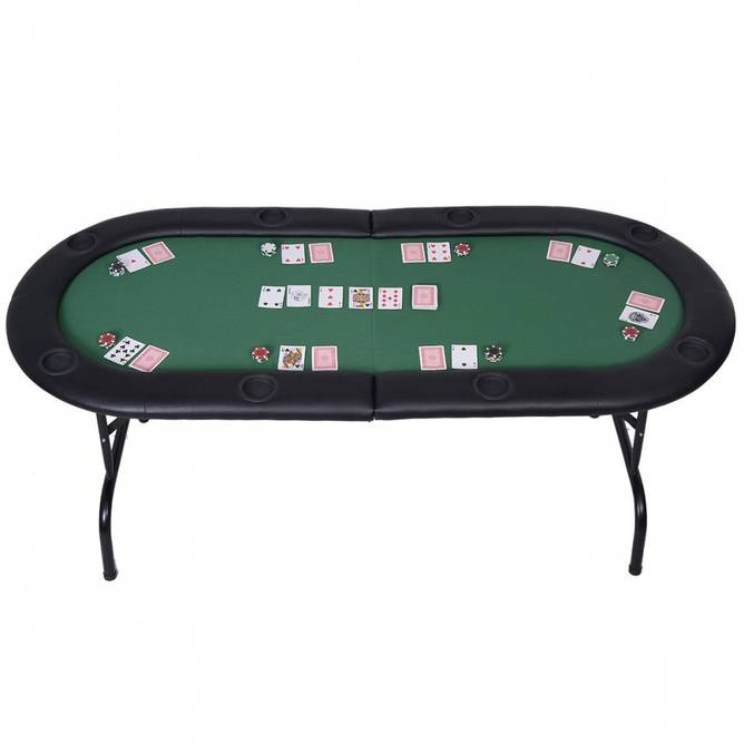 Bilde av Sammenleggbar pokerbord