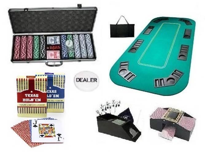 Bilde av Pokerpakke til cash og turnering