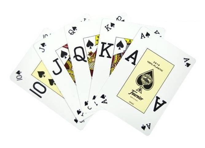Bilde av Fournier poker vision (dual index) pokerkort