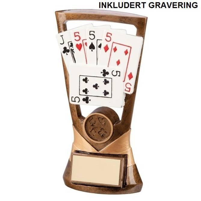 Bilde av Poker pokal 4 like