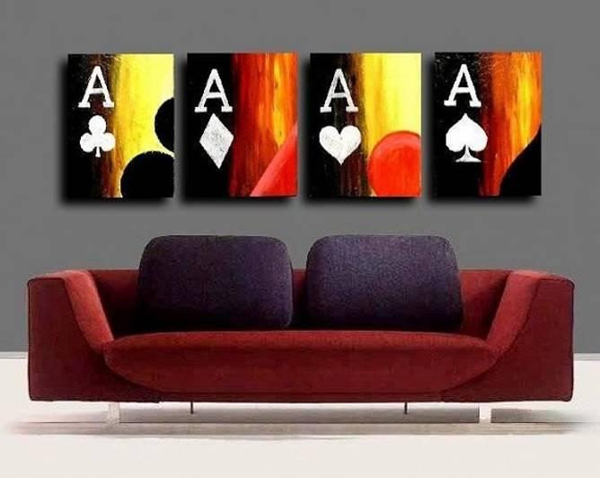 Bilde av Poker maleri