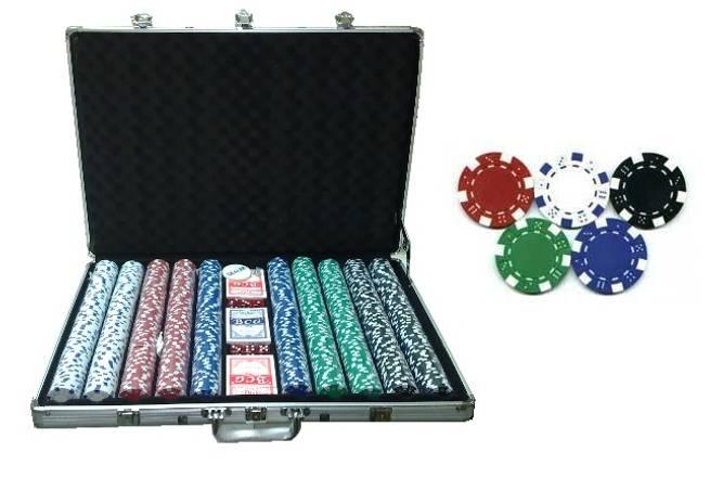 Bilde av 1000 poker sjetonger