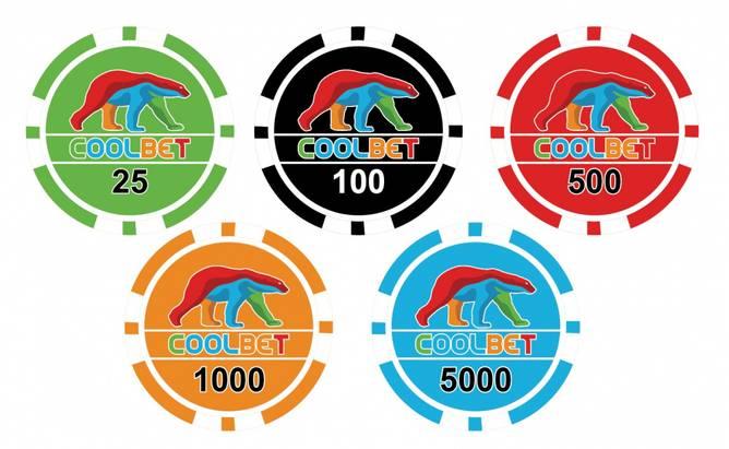 Bilde av 50000 stk. logo pokersjetonger 11,5g
