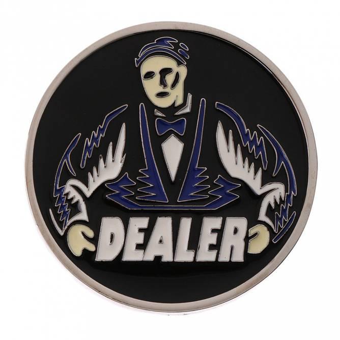 Bilde av Dealer button i metall