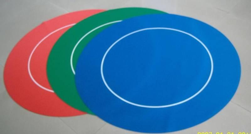 Bilde av Gummi rund pokerduk