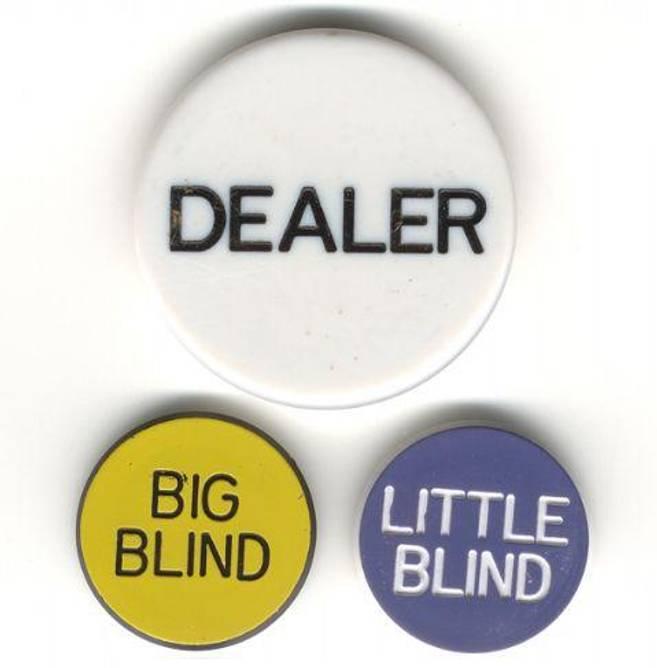 Bilde av Poker button set