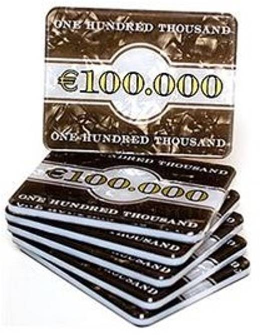 Bilde av Euro plaque € 100000