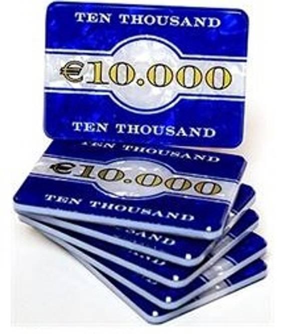 Bilde av Euro plaque € 10000