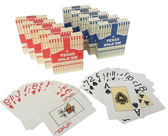 Bilde av Pokerkort Texas holdem