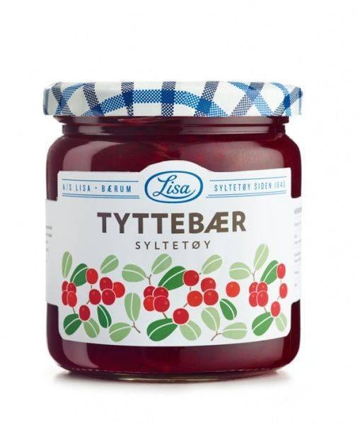 Bilde av Tyttebærsyltetøy 420g