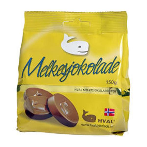 Bilde av Hval Melkesjokolade 150g