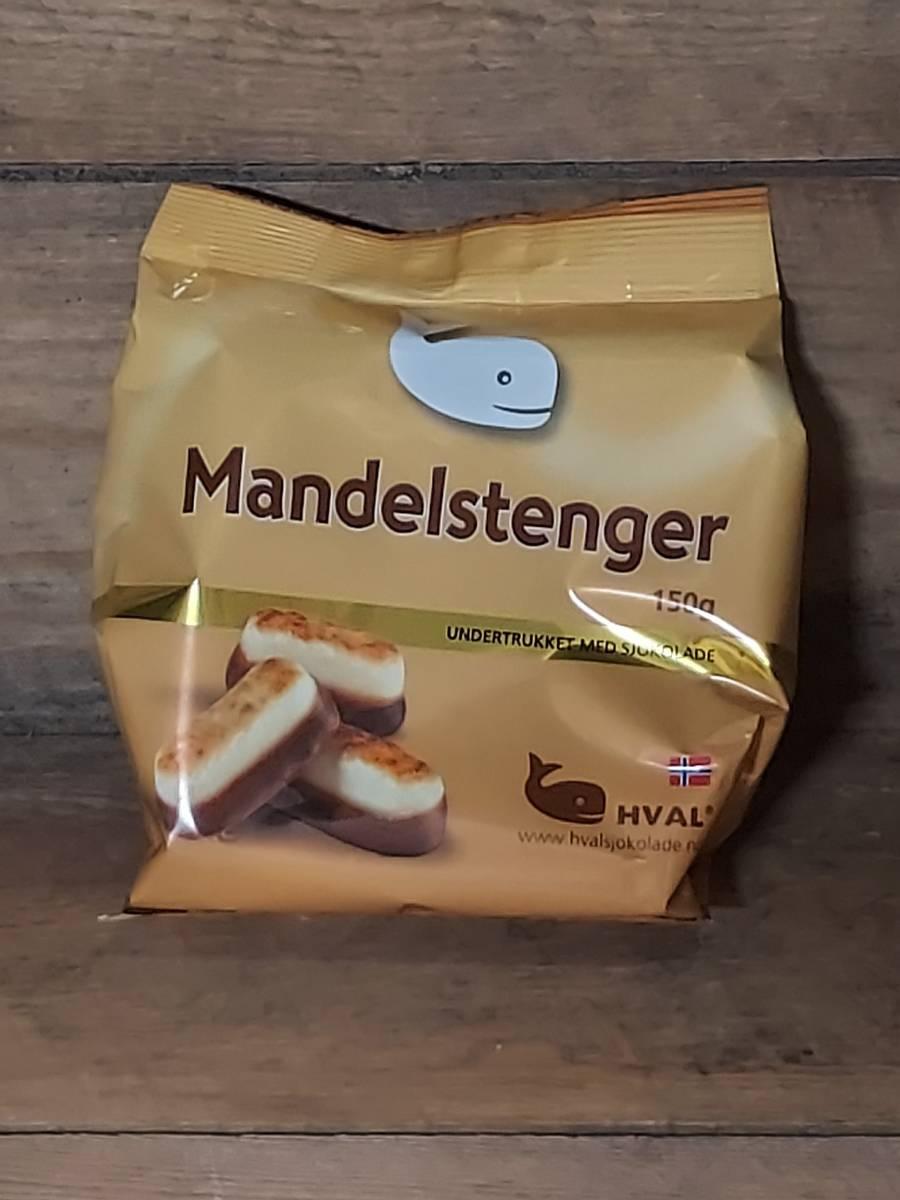 Hval Mandelstenger 150g  BF: 09.07.21  Datovare