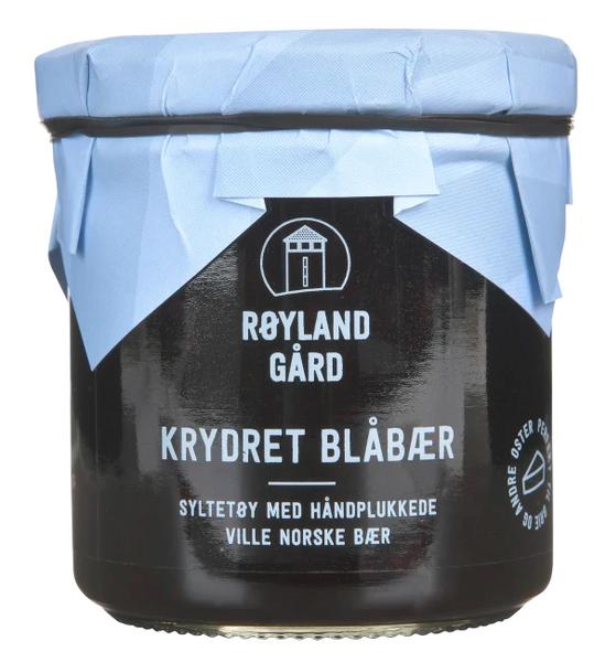 Bilde av Røyland blåbærsyltetøy krydret 160ml