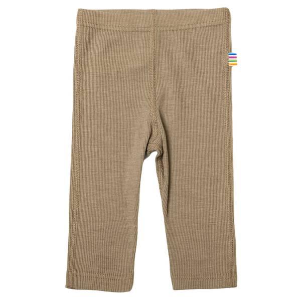 Bilde av Joha ull/silke rib leggings mini - grå