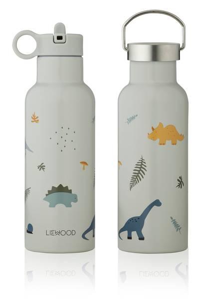 Bilde av Liewood Neo drikkeflaske 500 ml - dino dove blue