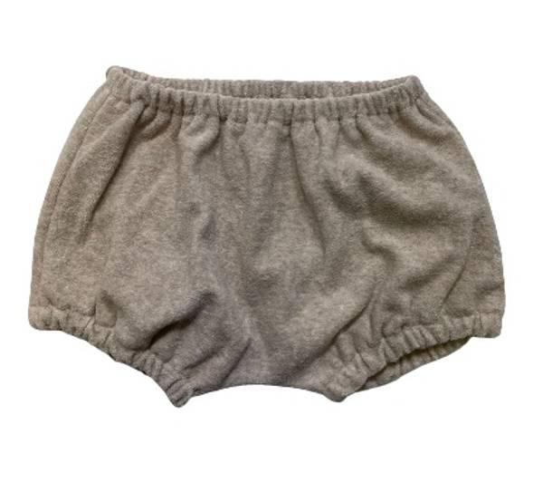 Bilde av HUTTELiHUT Home frotte shorts - camel