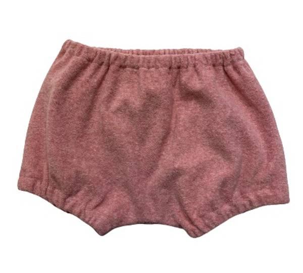 Bilde av HUTTELiHUT Home frotte shorts - dark rose