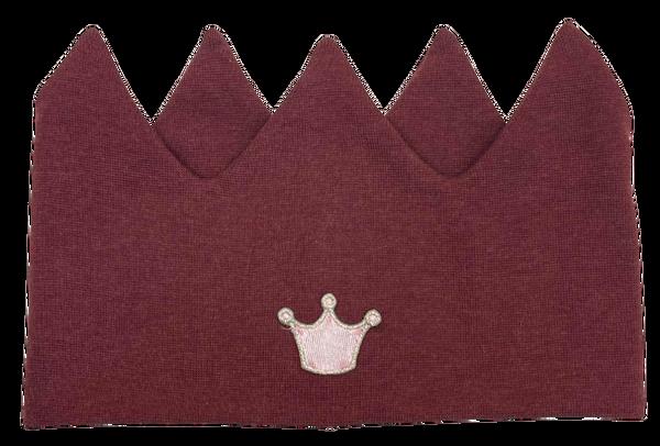 Bilde av Kivat pannebånd krone - burgunder