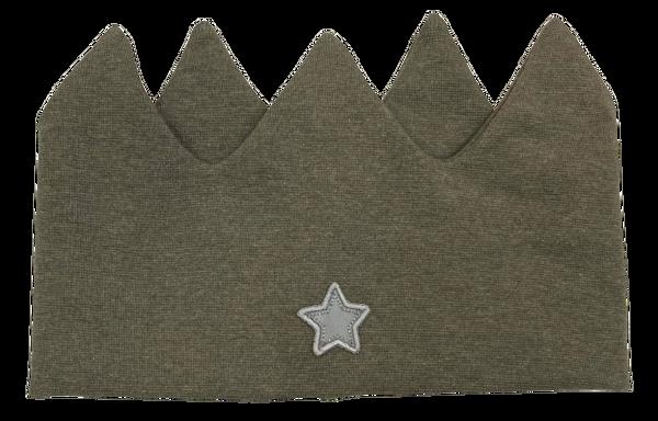 Bilde av Kivat pannebånd krone - grønn med stjerne