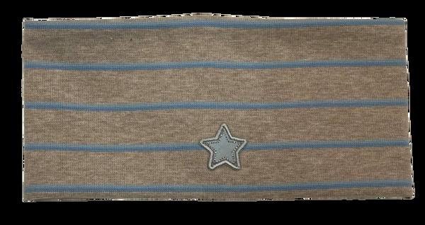 Bilde av Kivat pannebånd stripet - beige/blå