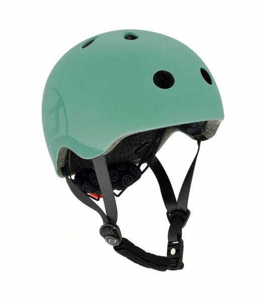 Bilde av Scoot & Ride hjelm - Forest 3-7 år
