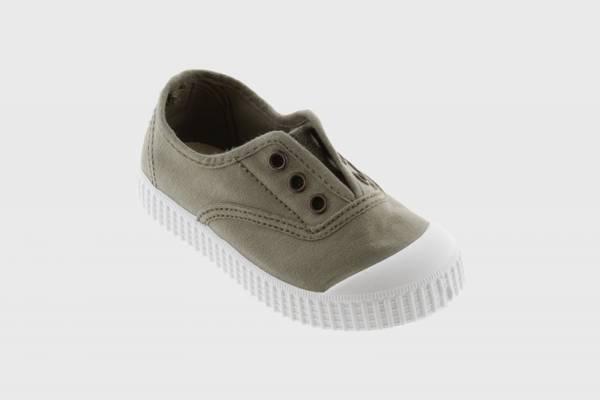Bilde av Victoria Shoes canvas uten knyting - aloe
