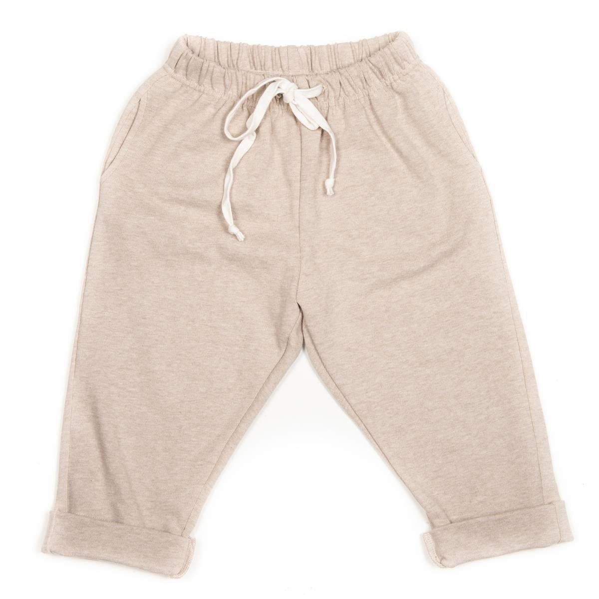 HUTTELiHUT JOG pants heavy jersey - camel