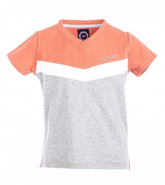 Bilde av Move On Motivate t-skjorte - ginger spice/grå