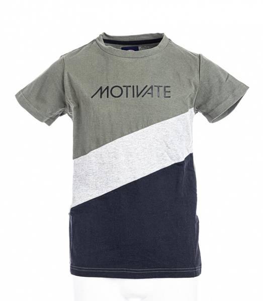 Bilde av Move On Motivate t-skjorte - lys oliven