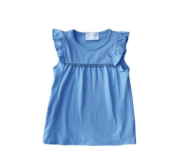 Bilde av Vilje & Ve Lene t-skjorte - solid blue