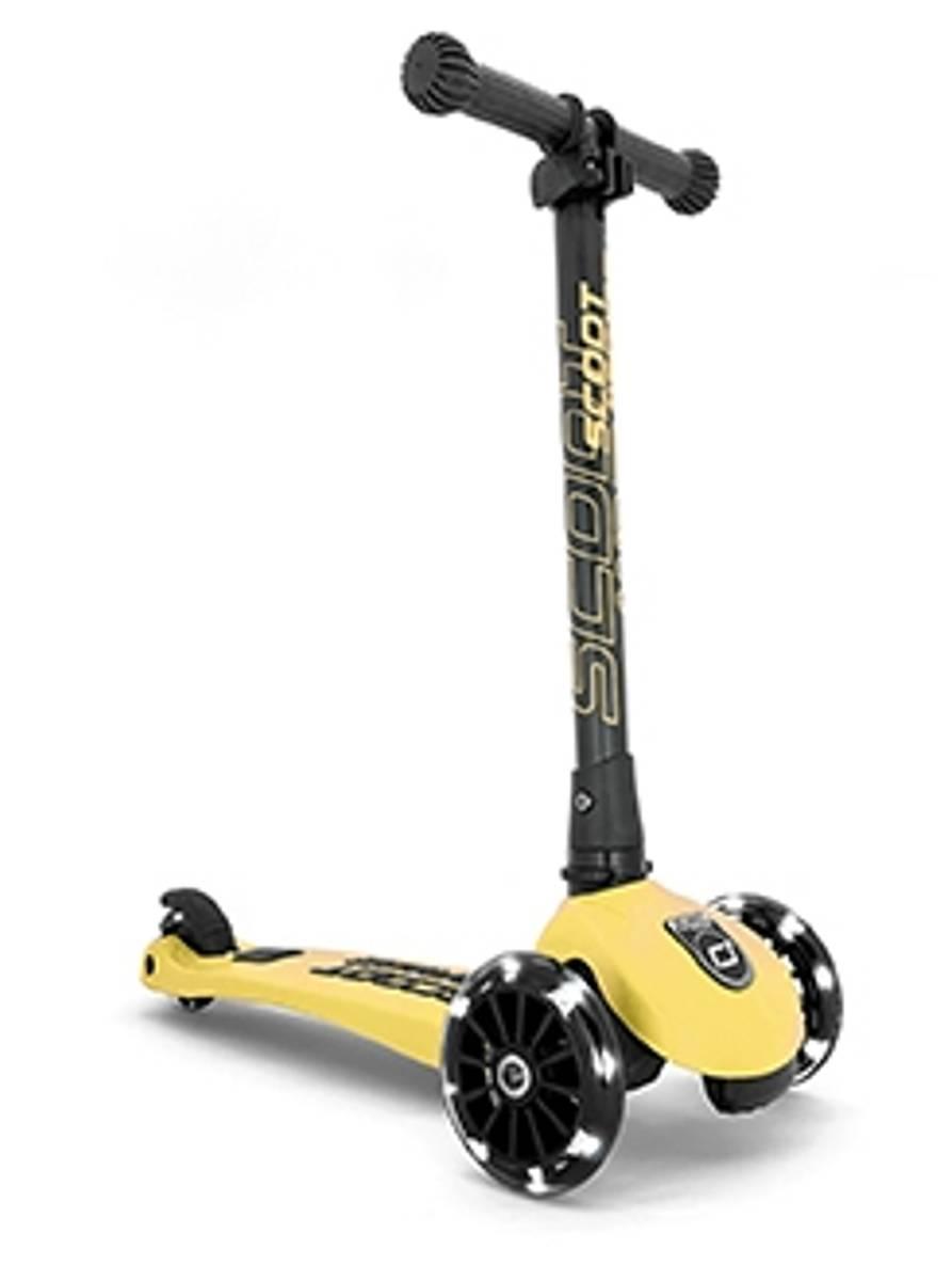 Scoot & Ride Highwaykick 3 sparkesykkel - lemon