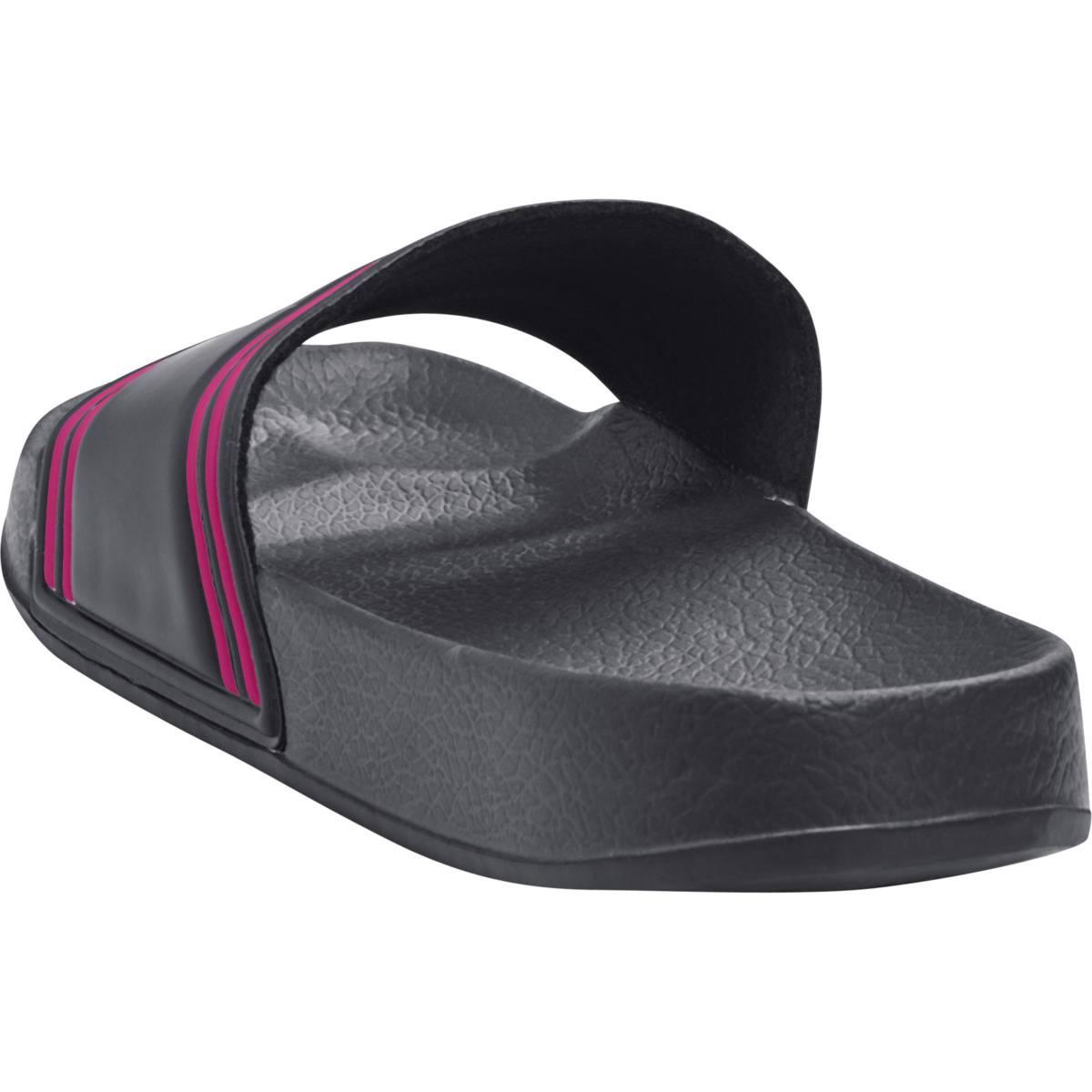 Hummel Pool Slide - Black iris/rosa