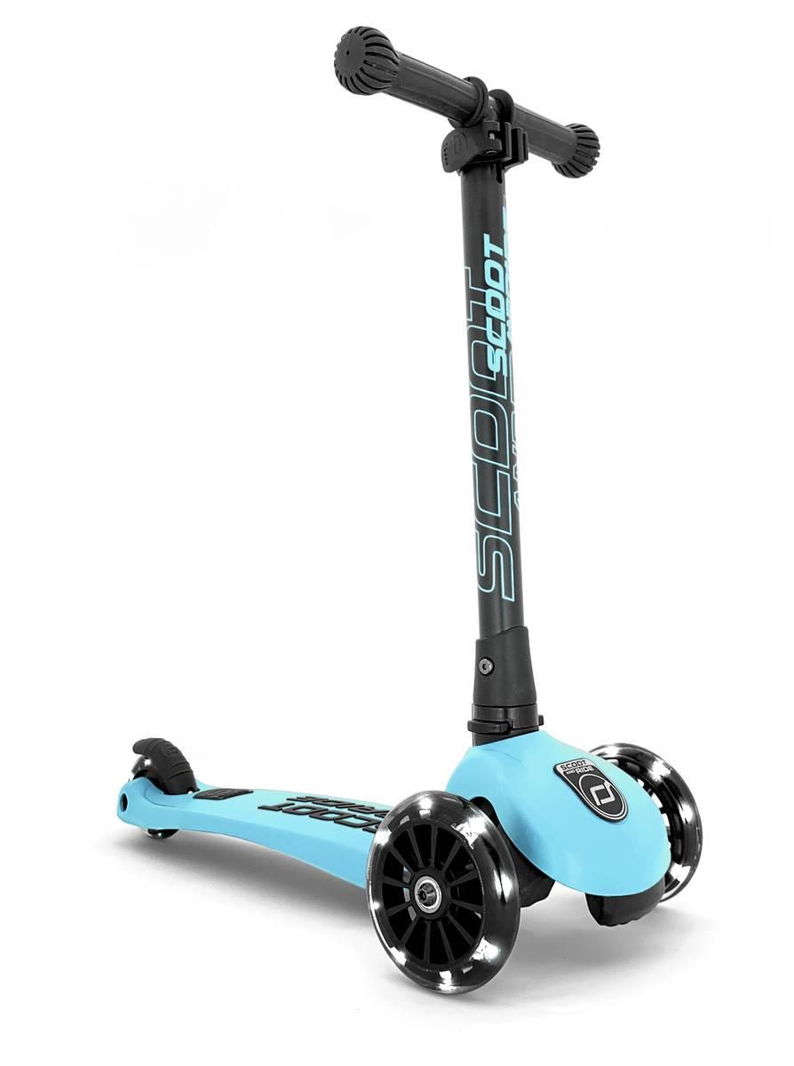 Scoot & Ride Highwaykick 3 sparkesykkel - blueberry