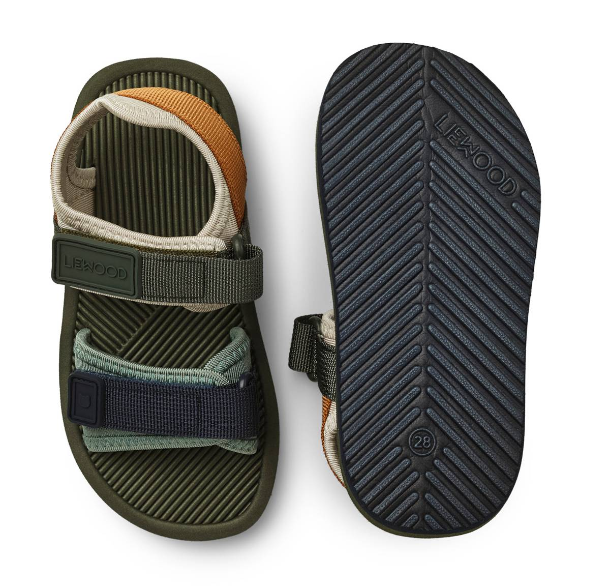 Liewood Monty sandaler - hunter green mix