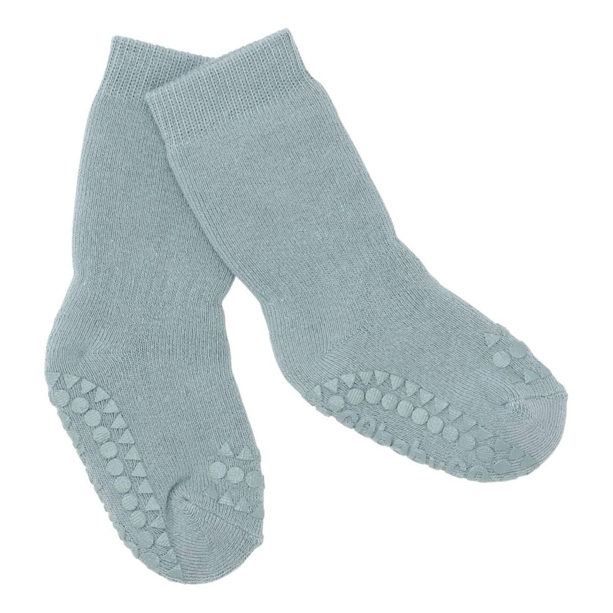 GoBabyGo antiskli sokker - dusty blue
