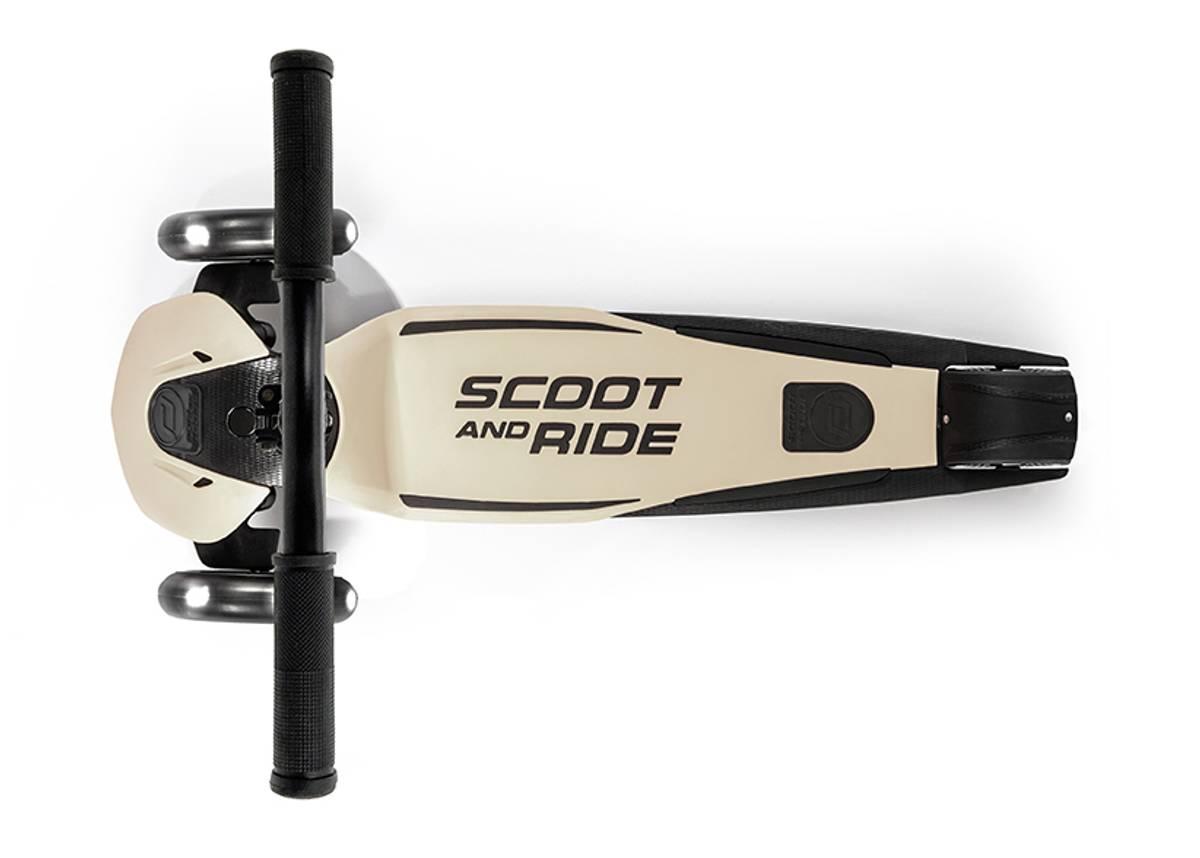 Scoot & Ride Highwaykick 5 LED - ash
